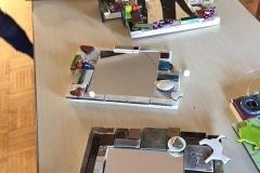 Cornici in ceramica per specchi