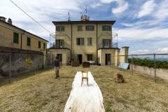 Il Palazzo dal cortile (Ph. Max Ferrero)