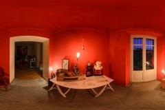 17. La saletta rossa.  Ph. Alessandro Ugazio