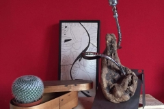 Lampada artigianale pezzo unico. Gianluca Bonanni
