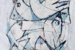 Conference of the birds -Dimensione cm. 60x80