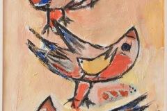 Fantasy birds. Dimensioni cm. 50 x 70