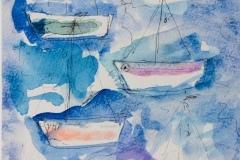 Boats - Dimensione cm. 24 x 17